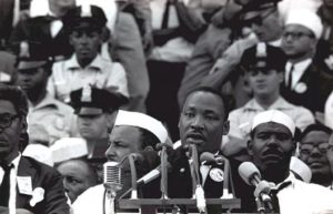 Civil Rights took center stage during the March on Washington in 1963
