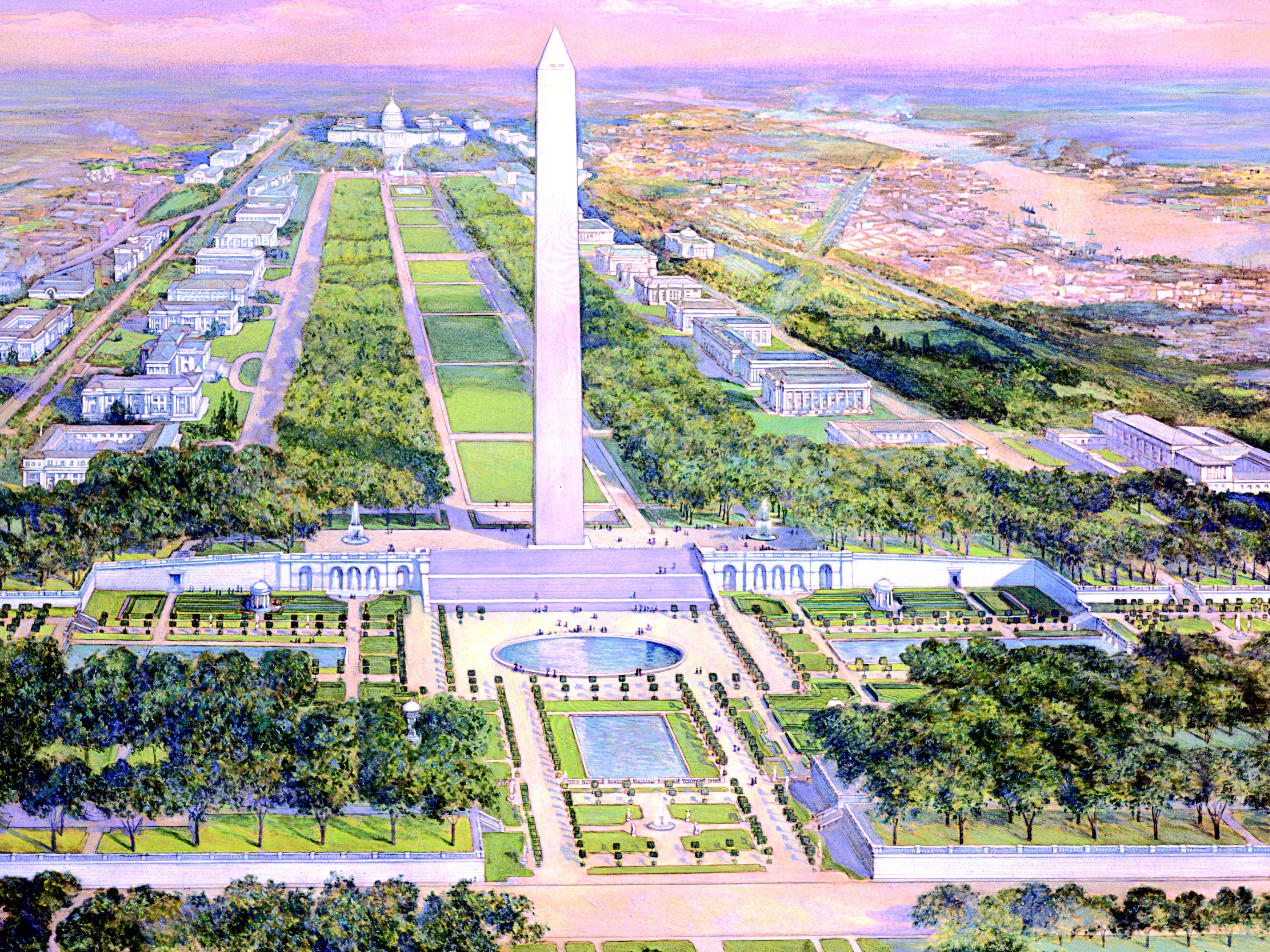 Mall Dc Map.National Mall History National Mall Coalition