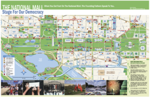 National Mall Map 2015