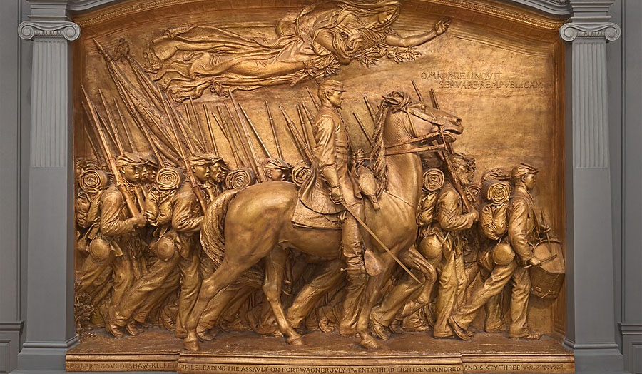 Called to the Mall: This Sculpture Tells the Story of the 54th Massachusetts Regiment in the Civil War