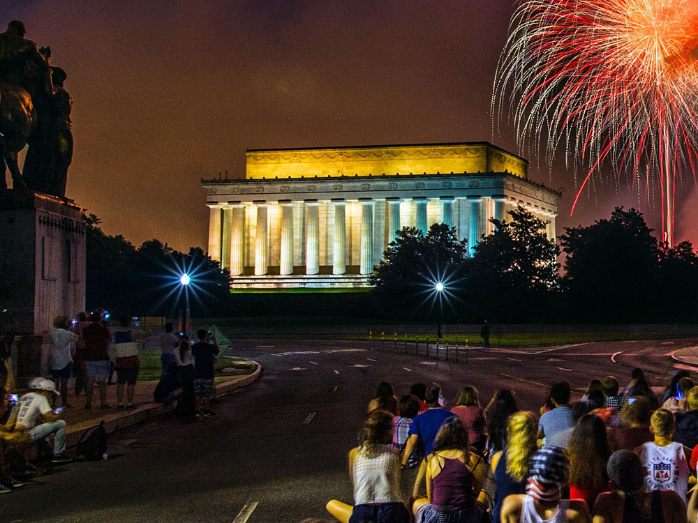 Fourth of July on the National Mall (Courtesy United States Park Police)
